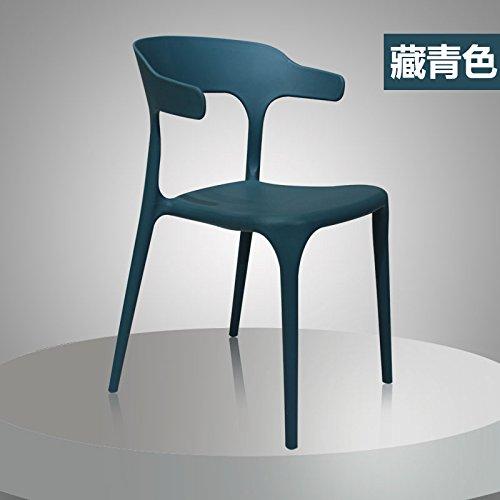 Sedia di moderni e minimalisti sedie di plastica può essere piegato ...