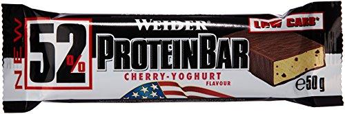 Weider 52% Protein Barre Cherry-Yoghurt 24 x 50 gm