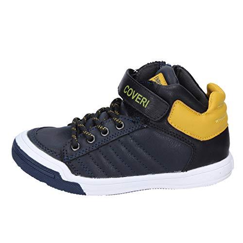 Enrico Coveri Sneakers Baby Jungen Synthetisches Leder blau 28 EU