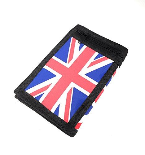 FJ  Bandera Reino Unido, Portafogli  Donna bianco