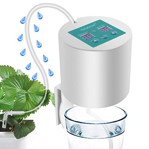 Auto Bewässerungssystem, DIY Auto Drip Bewässerung Kit, mit 15-Tage Programmierbare Timer für Blumenbeet, Terrasse, Garten oder Topfpflanzen ideal als Urlaubsbewässerungssystem