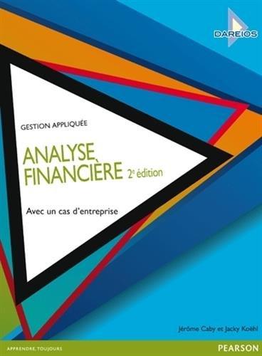 Analyse Financière 2e édition