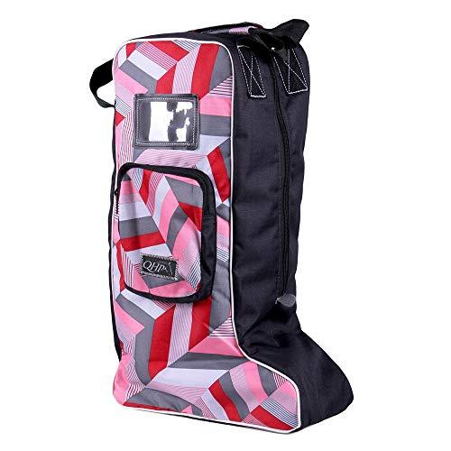 netproshop Unisex Stiefeltasche für Reitstiefel Auswahl, Farbe:Virtual pink