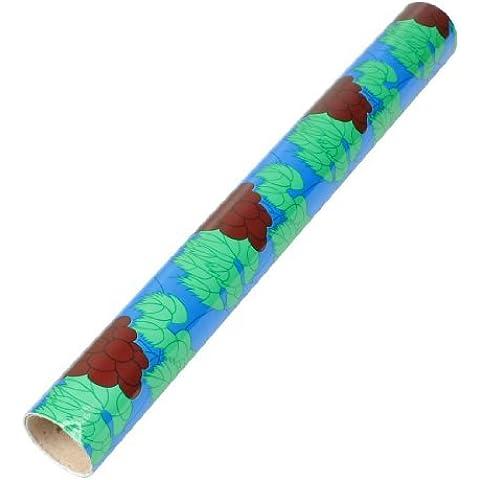 Uvas del patrón de papel de pared de vinilo del carrete de película de 1,8 m x 45cm