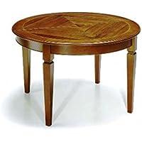 Amazon.it: tavolo rotondo allungabile: Casa e cucina