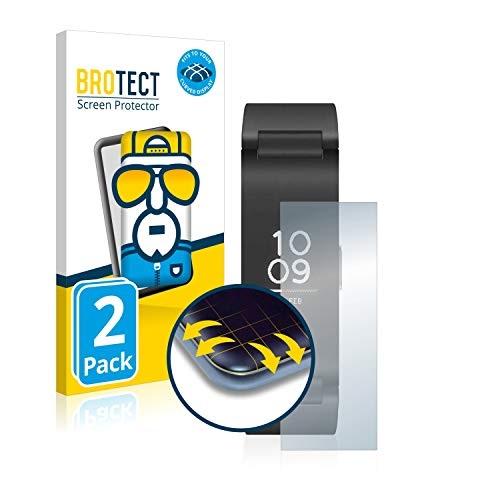 brotect Protection Intégrale 3D Incurvé Compatible avec Withings Pulse HR (2 Pièces) - Couverture Complète, Film Protection Écran