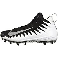 info for 37ec5 44419 Nike Alpha Menace Pro Mid pour Homme Football Crampons, Multicolore  (White Metallic Silver