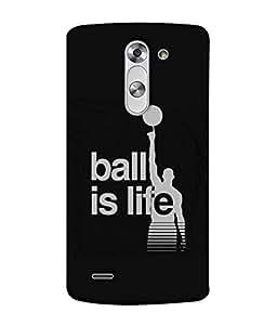 PrintVisa Designer Back Case Cover for LG G3 Stylus :: LG G3 Stylus D690N :: LG G3 Stylus D690 (Challenges Basketball)