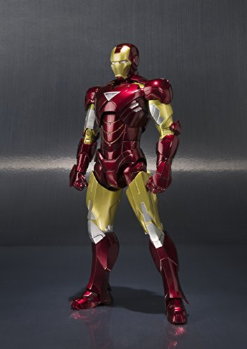BANDAI-Iron Man MK Vi y Set Hall de Armaduras, Figura de (BAN14345) 4
