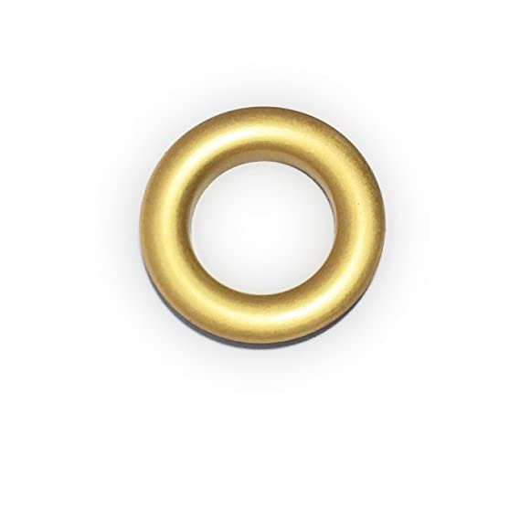 Badri's Curtain Eyelet Rings with Lock (Golden) -50 Pieces
