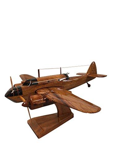 Bristol Beaufort Bomber (The Wooden Model Company Ltd Bristol Beaufort Typ 152 - British Military Aircraft - Executive Holz-Tischmodell Mahagoni)