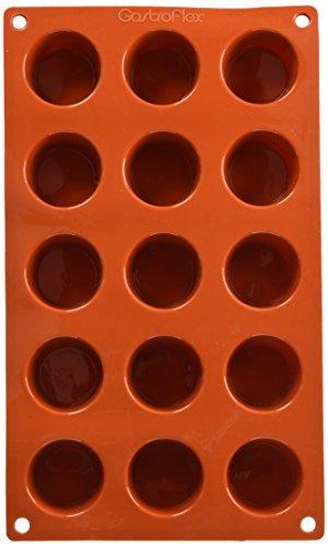 Gastroflex Muffin (Matfer Bourgeat Gastro Flex Mini Muffinform, Rot)