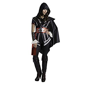 Assassins Creed Ezio Classic Women's Master Assassin Fancy dress costume Medium