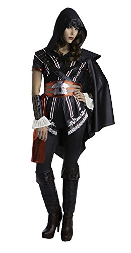 Assassins Creed Ezio Classic Women's Master Assassin Fancy dress costume Large (Für Erwachsene Assassins Creed Ezio Kostüm)