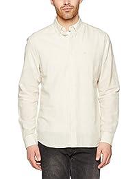 Wrangler 1 Pkt Shirt Pebble Sand, Chemise Casual Homme
