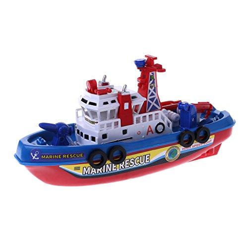 Schnelle Geschwindigkeits-Musik-Licht-elektrisches Marine-Rettungs-Feuerbekämpfungs-Boots-Spielzeug Für Kinder
