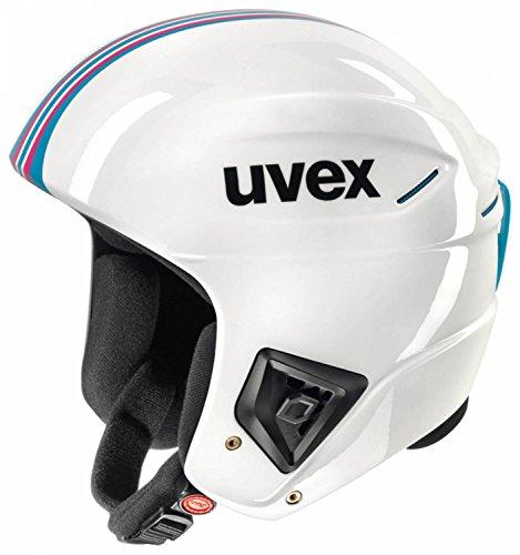 Skihelm Uvex Race+ in div. Farben und Größen , Farbe:white-pink;Größe:51-52