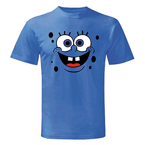 Art T-shirt Herren T-Shirt Blau