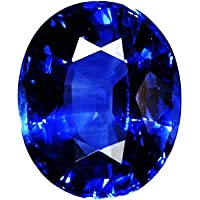 Star Retail Neelam Stone Certified Natural Blue Sapphire Gemstone 5.25 Ratti with GLI Certified for Astrological Purpose