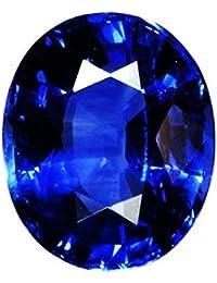 STAR GEMS Neelam Stone Certified Natural Blue Sapphire Gemstone 5.25 Ratti