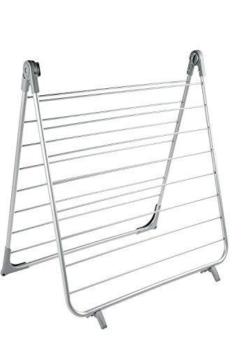 BAMODI Badewannentrockner - stabiler Wäscheständer für Bad und Balkon - Badewanne Wäschetrockner mit 10 m Trockenlänge (66 x 132 cm)