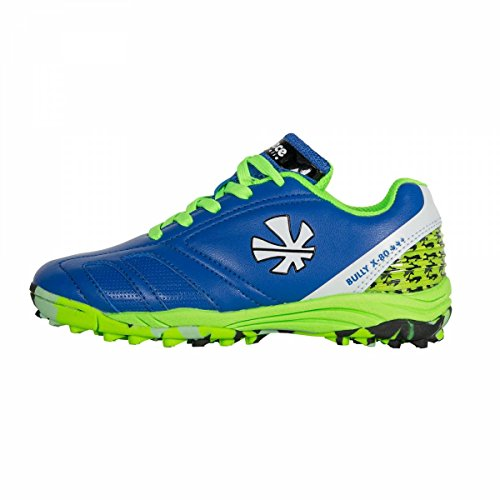 Reece Bully X80 Outdoor Hockey Schuhe blau-grün Kinder blau-grün, 35