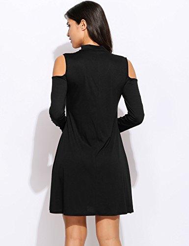 Romanstii - Robe - Ajourée - Femme Noir