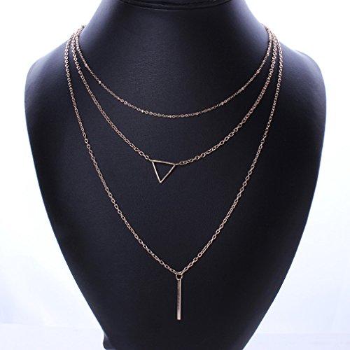 honghu-18-k-plaque-or-three-row-longue-chaine-triangle-bar-collier-avec-pendentif-pour-femme