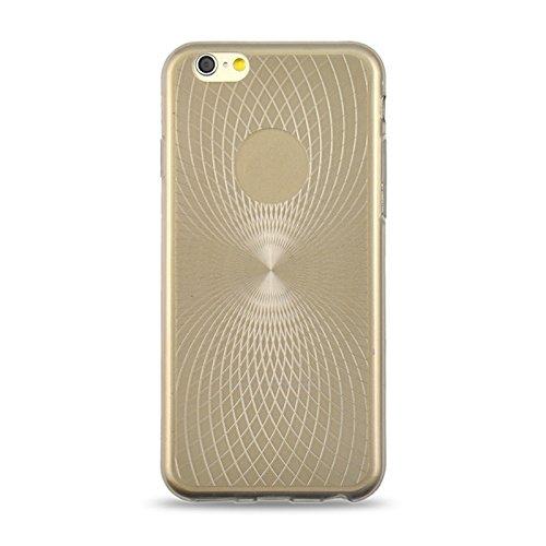 Wkae Case Cover für das iphone 6 0,3 mm ultrathin auge der sonne getreide transparente tpu - fall ( Color : Grey ) Grey