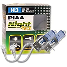 PIAA PL HE821 Night Tech H3 Set de bombillas halógenas