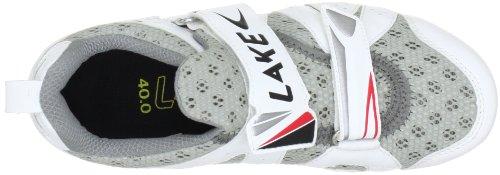 LAKE TX 212 070133, Chaussures de cyclisme mixte adulte Weiss (weiß/schwarz 0)