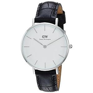 Daniel Wellington Reloj Analógico para Mujer de Cuarzo con Correa en Cuero DW00100185
