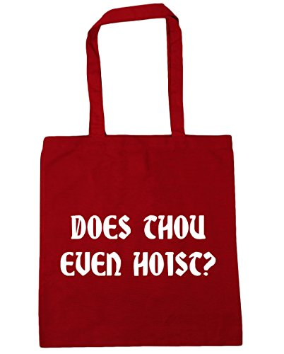 Hippowarehouse, Damen Strandtasche Classic Red