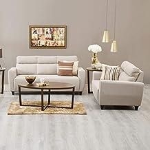 Home Centre Emily 3+2 Sofa Set - Beige