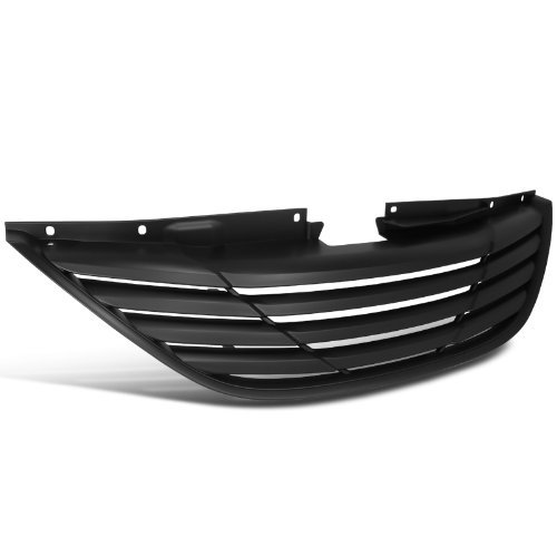 matte-black-hyundai-sonata-horizontal-1pc-style-abs-front-grill-hood-grille-by-spec-d-tuning