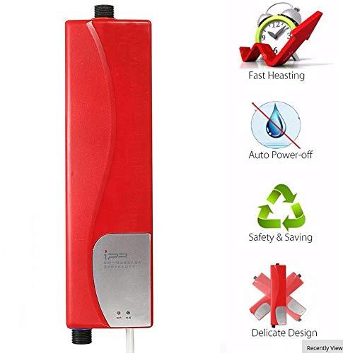 BTSSA 220V 3000W Tankless Elektrischer Durchlauferhitzer Anti-Trocken Küchenheizung für Badezimmer Wasserdicht und dampfdicht Intelligente Dusche Durchlauferhitzer (Kaufen Durchlauferhitzer)