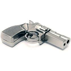 aricona N°269 Fun Stick Clé d'enregistrement USB comme Pistolet (métal) avec 4 GB Capacité de Stockage, USB 2.0/1.1, clé USB Plug&Play avec Longue durée d'enregistrement des données