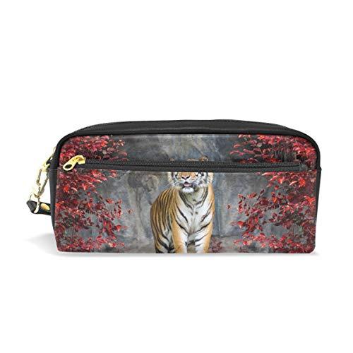 WowPrint - Estuche lápices tigre cremallera gran