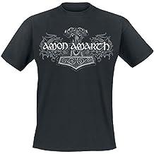 Amon Amarth Viking Horses T-Shirt schwarz