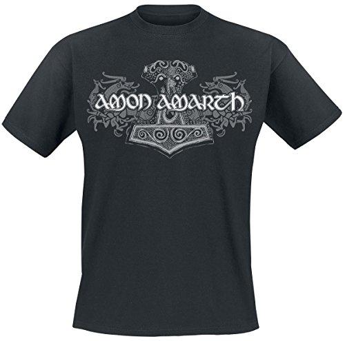 Amon Amarth Viking Horses T-Shirt black