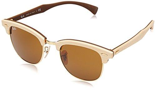 ray-ban-unisex-sonnenbrille-rb3016m-gr-medium-herstellergrosse-51-braun-gestell-hellbraun-glaser-bra