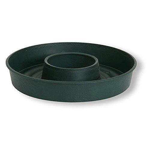 """HC-Handel 930688 Pflanzring """"Rollo"""" aus Kunststoff 55 cm grün"""