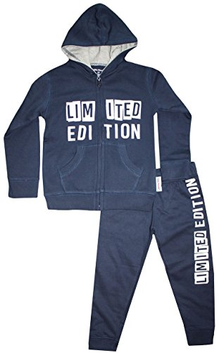 Limited Edition Kids Sweatsuit Navy Grey 4T (Sweatsuit Navy)