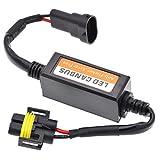 KaTur Auto LED Scheinwerfer Canbus Fehlerfrei LED Decoder 9005(HB3)/9006(HB4) Plug & Play Computer warnunterdrücker & Anti Flicker (2Stück)