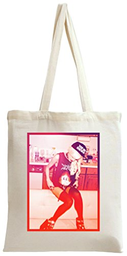 Snapback Sexy Hot Girl Tote Bag