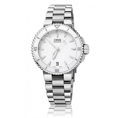 Oris Diving Aquis Date - Reloj de mujer (36 mm, cerámica)