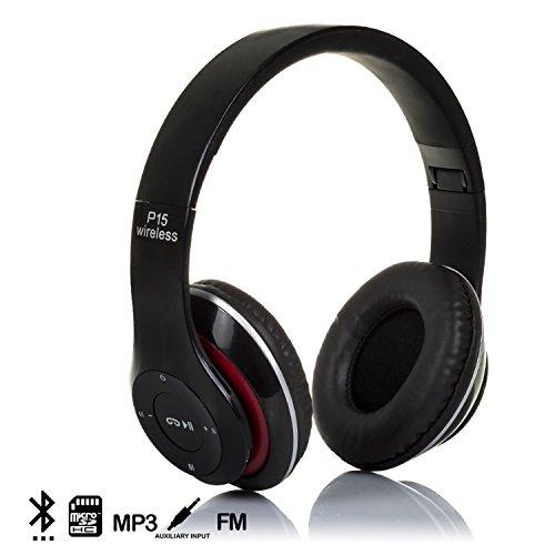 DAM - CASCOS BLUETOOTH 4.2 CON RADIO FM INCORPORADA Y LECTOR DE MICRO SD