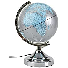 globe lumineux terrestre. Black Bedroom Furniture Sets. Home Design Ideas