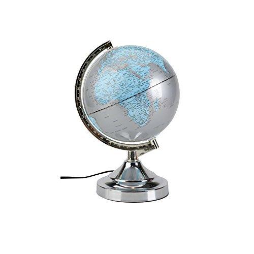 3 Helligkeitsstufen Leuchtglobus Globus Weltkugel 360 ° Inkl. E14 Touchfunktion