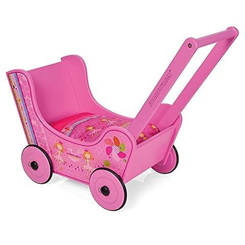 Knorrtoys 69904 - Puppenholzwagen Walky pink